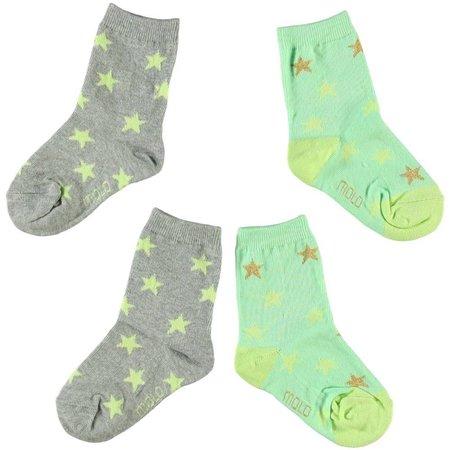 Molo twee paar sokken Nesi Honey Dew