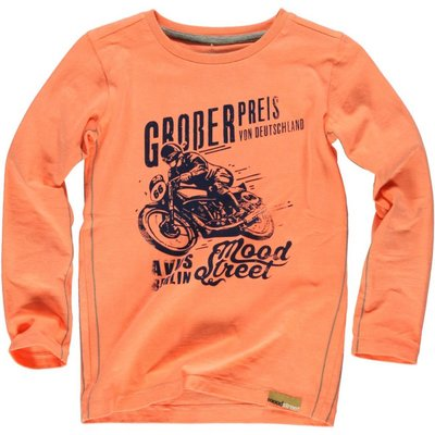 Moodstreet longsleeve bright orange