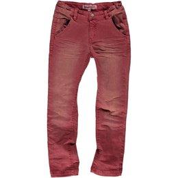 Moodstreet boys jeans vintage red