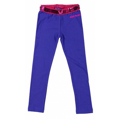 Kidz-Art legging purple blue