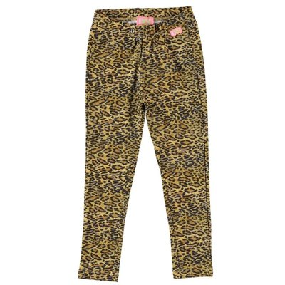 Funky XS legging Leopard brown