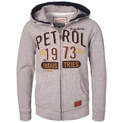 Petrol Industries sweatvest grey