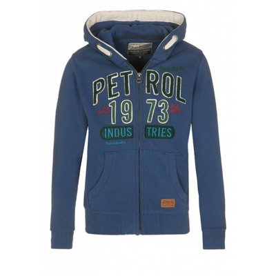 Petrol Industries sweatvest vintage blue