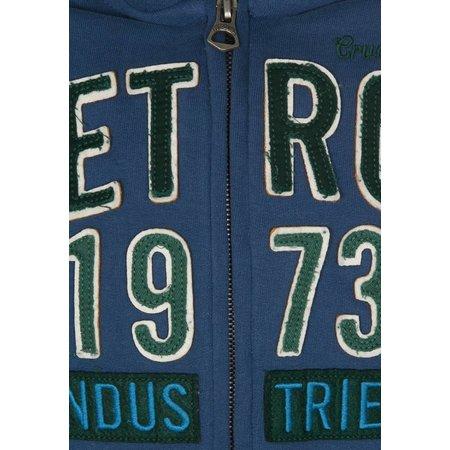 Petrol Industries sweatvest vintage blue