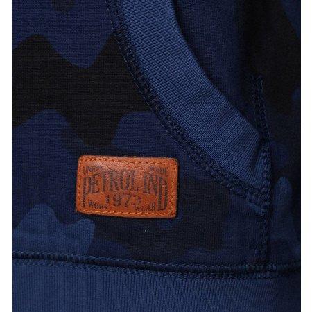 Petrol Industries hooded sweat army blue
