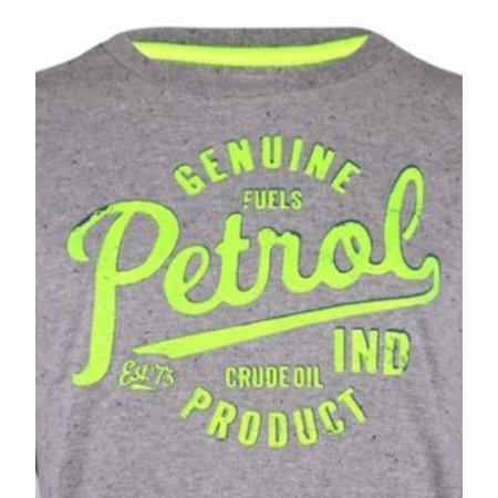 Petrol Industries longsleeve grey neon print