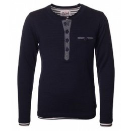 Petrol Industries navy knit trui