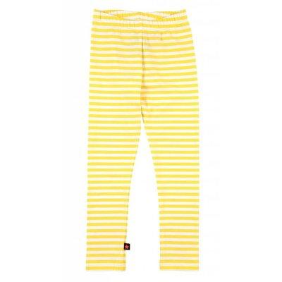 Molo legging Niki shine stripe yellow