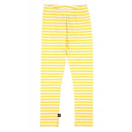 Molo legging Niki shine stripe yellow