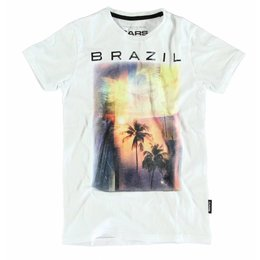 Cars Jeans shirt Brazil white