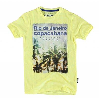 Cars Jeans shirt Rio de Janeiro soft yellow