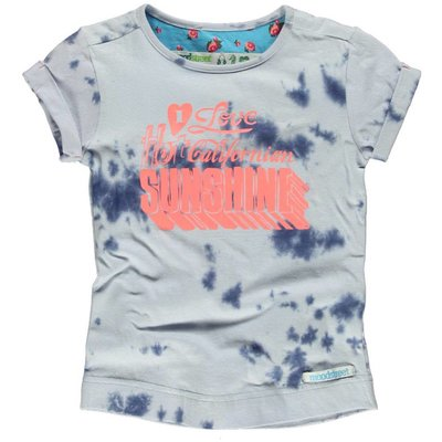 Moodstreet girls shirt Denim tie dye