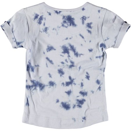 Moodstreet girls shirt Denim tie dye