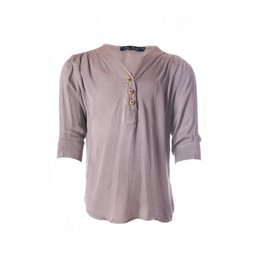 Be A Diva blouse Audrey taupe
