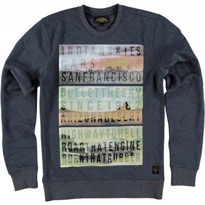 Cars Jeans sweater Proud washed blue