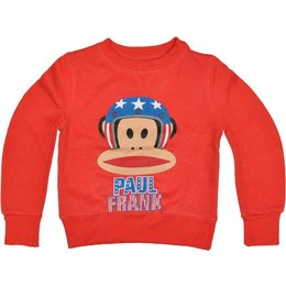 Paul Frank sweater red American