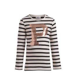 Little Pieces longsleeve Ilse met pailletten P
