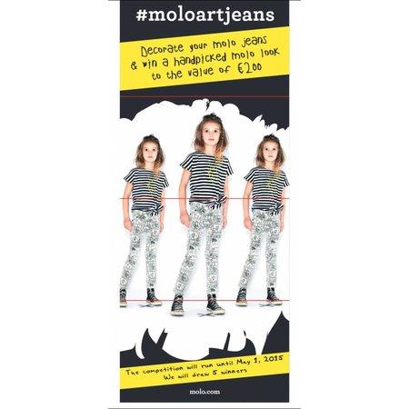 Molo Kleur-je-eigen-jeans Alisa Stripverhaal