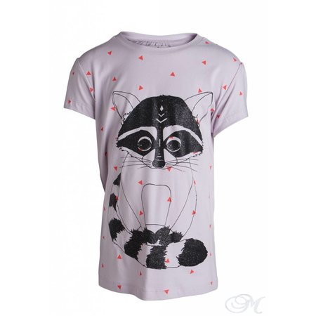 Little Pieces shirt PSINA Wasbeer- Racoon