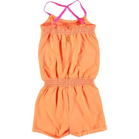Kidz-Art stretchy jumpsuit hot orange