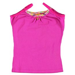 Kidz-Art singlet  purple pink plain