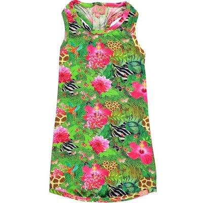 Funky XS jurk Tropical jungle