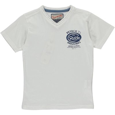 Petrol Industries V-shirt bright white