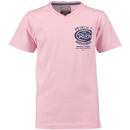 Petrol Industries V-shirt soft pink
