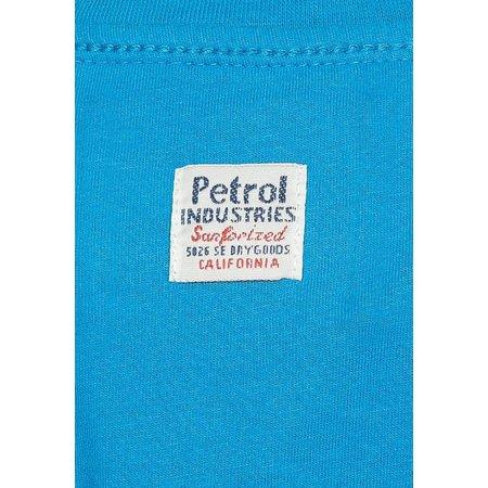 "Petrol Industries shirt ""Like"" blue"