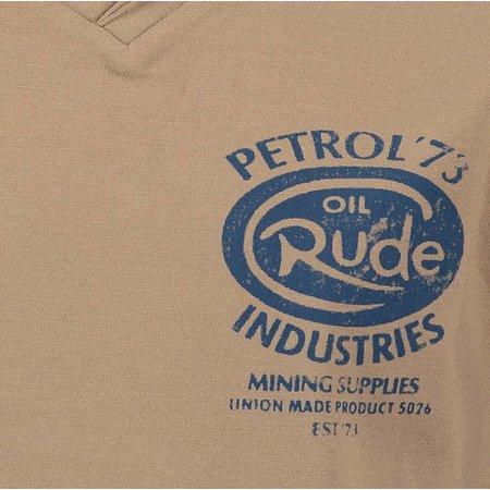 Petrol Industries V-shirt Cottage green