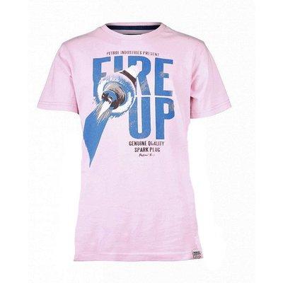 Petrol Industries shirt Fire Up pink