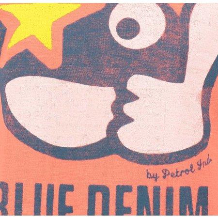 Petrol Industries shirt Thumbs Up orange