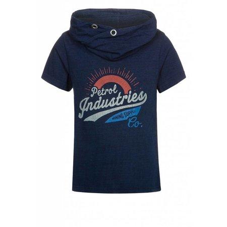Petrol Industries kol shirt washed indigo blue
