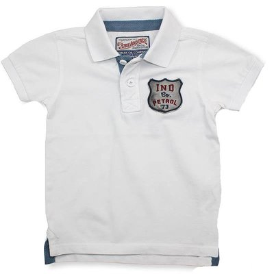 Petrol Industries polo shirt wit
