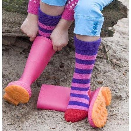Bonnie Doon dikke kousen Gumboot purple rain