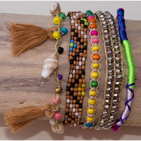 LOVE IBIZA armband Sandy beaches