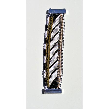 LOVE IBIZA armband Black magic