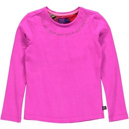 Kidz-Art longsleeve purple pink