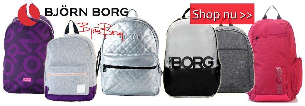 Björn Borg rugzakken en schooltassen