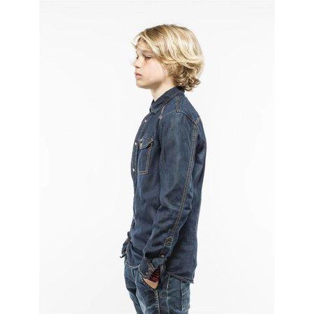 Petrol Industries jeans overhemd dark blue