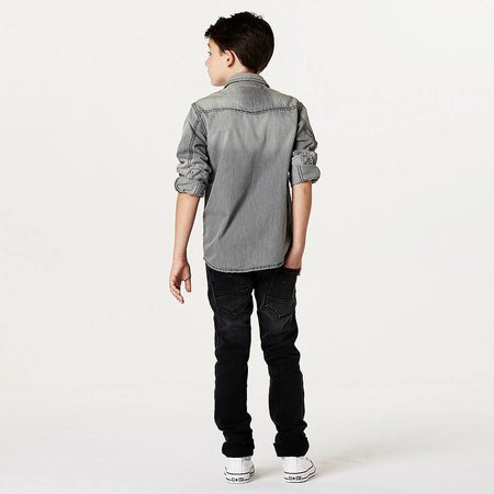 Cars Jeans overhemd Elba denim grey