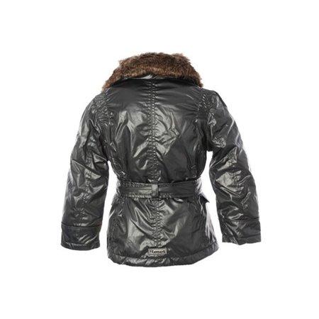 Reset winterjas dark silver- waterproof