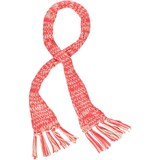 Moodstreet hippe sjaal fluo coral pink