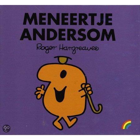 kinderboek Meneertje Andersom