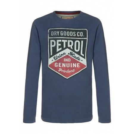 Petrol Industries superzachte longsleeve stone blue