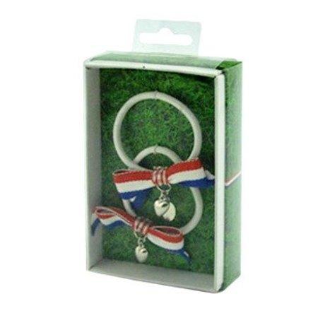 ToyToy kinder haar elastiek met strikjes NL vlag