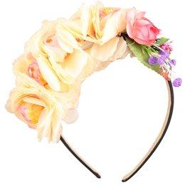 Molo Haarband Floral- zijden bloemen