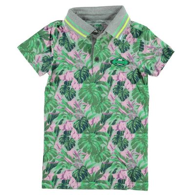 Bampidano boys polo jungleprint