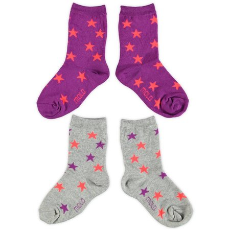 Molo twee paar sokken Nesi cactus flower