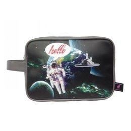 De Kunstboer toilettas Space Astronaut